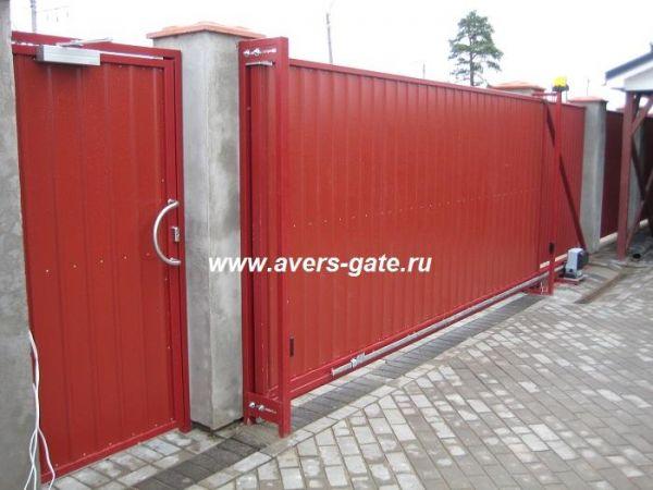 откатные ворота в санкт петербурге и л