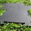 Резиновая вулканизированная плитка для тротуара, пандуса, разгрузочной площадки.