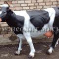 Садовая фигура в натуральную величину - реалистичная корова