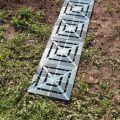 Сборные дорожки между грядками для огорода или теплицы на даче - Пластдор Мини