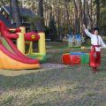 Организация детских праздников - аренда минибатутов